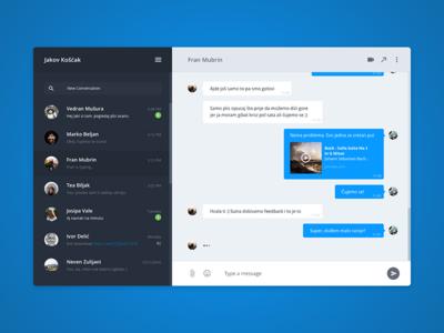 Chat module — UI Challenge
