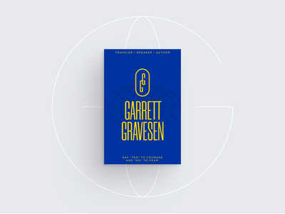 Garrett Gravesen - Initial Exploration monogram personal brand personal travel postcards typography