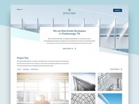 Real Estate Developer Website - Style Test