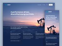 Oil Company Website