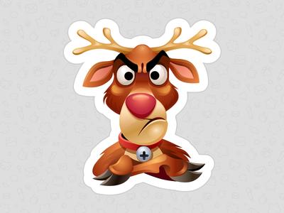 Grumpy Rudolph