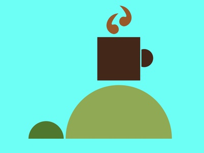 Turtle Cafe icon app ux vector illustration design logo branding ui
