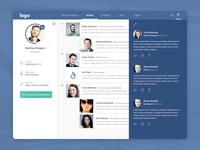 Social Dashboard Concept