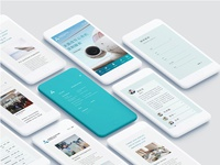 Mobile interface layouts