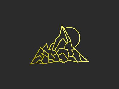 Mountain Illustration sketch color illustrator mountain icon design graphic vector illustration