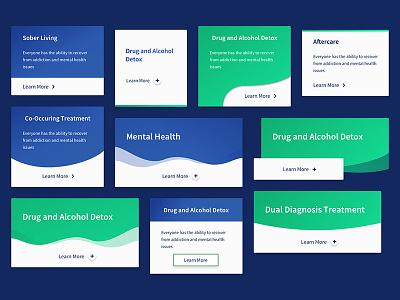 Pick a Card, Any Card cta ideas healthcare website button card design web design gradient web card