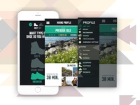 Hiking Infographic App