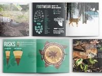 Hiking Infographic Book
