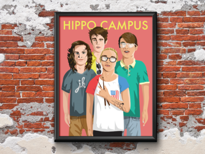 Hippo Campus Full Poster