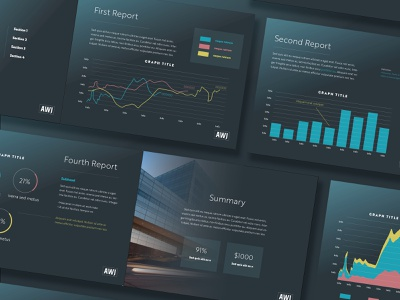 Financial Data Slides line graph graph charts presentation design presentation financial services finance data analytics data analysis data design
