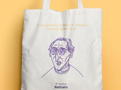 Franco Battiato franco battiato italian singer icon illustration