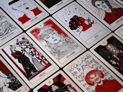 Morgana Tarot Card illustration chiara tagliaferri michela murgia morgana tarot card