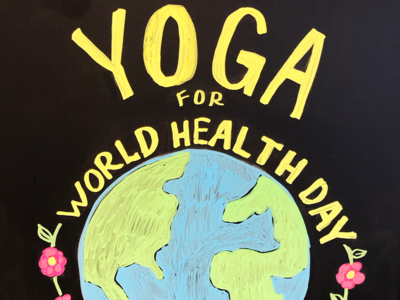 Yoga for World Health Day