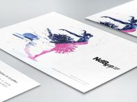 NdB: Ballet & Graffiti / A3 flyer