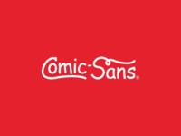 Coca-Cola as Comic Sans Logo