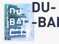 Dubai - Poster Composition