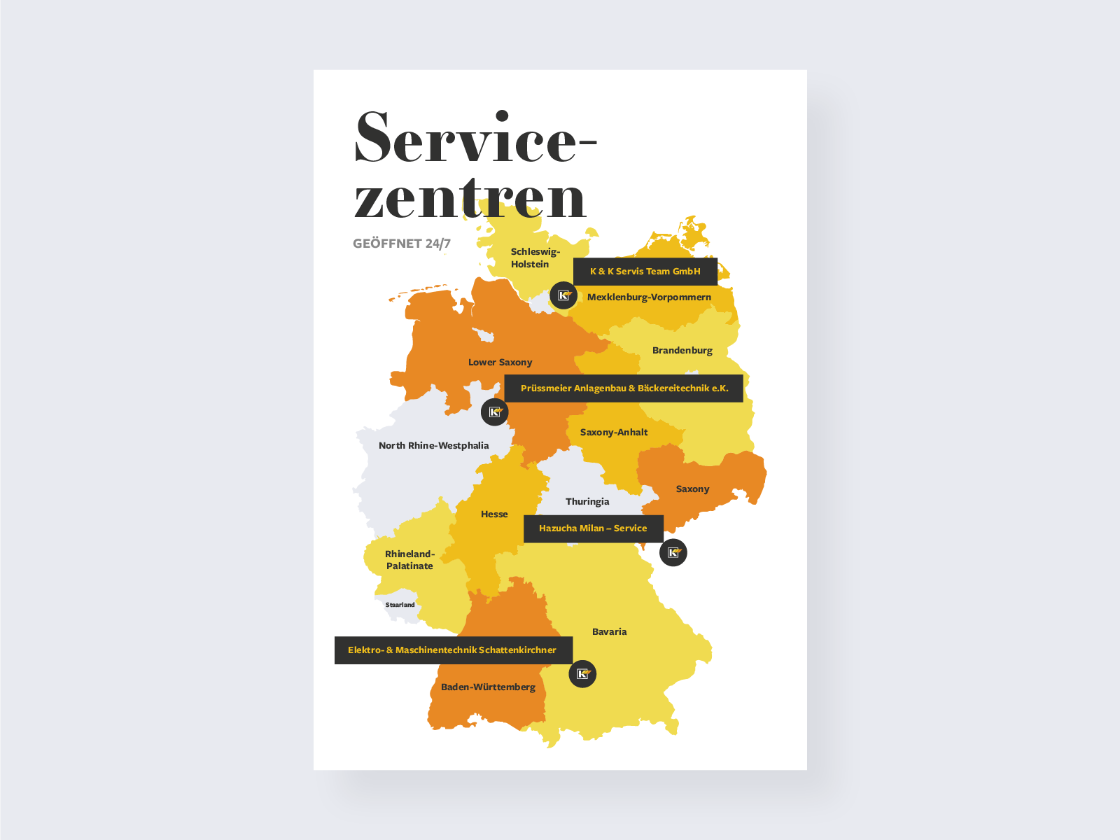 German map service