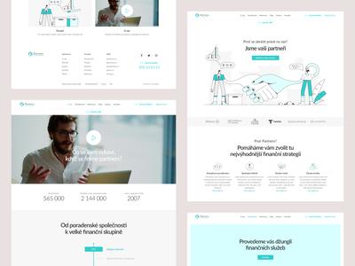 Partners Webdesign Pitch