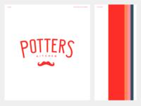 Potters Kitchen - Branding