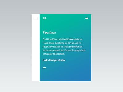 Hadith Web App