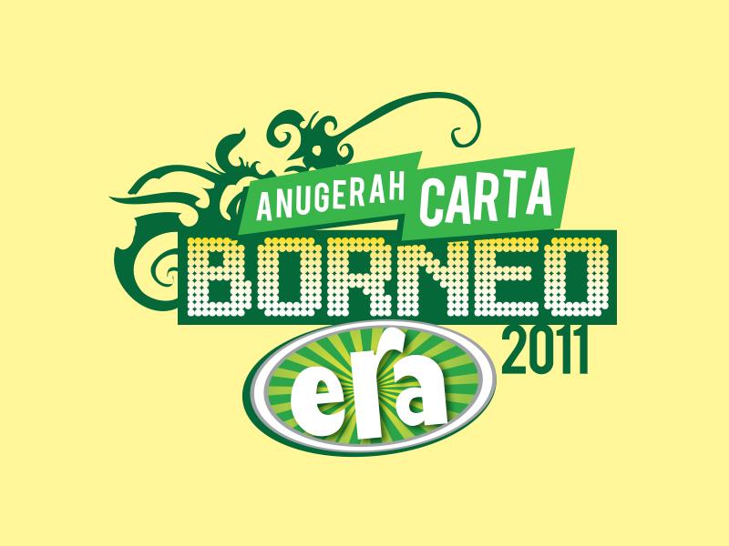 Anugerah Carta Borneo ERA 2011 astro radio era fm borneo tribal music awards concert logo astro malaysia