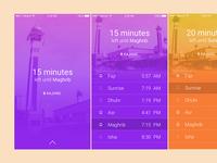 Rebound - Muslim Prayer Times App