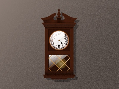 Recently Visited A Relative With A Few Cool Looking Clocks So Thought Iu0027d  Recreate Them U0026 Practice Using Grain Textures U0026 Shading Based On The  Tutorial By ...