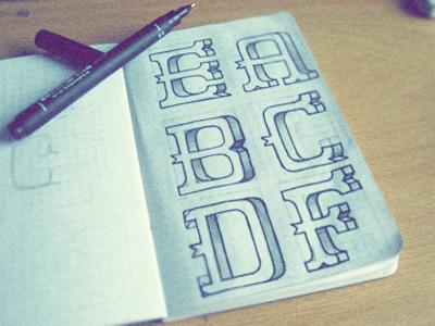 Font idea