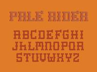 Western font Idea