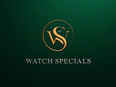 Watch Specials Logo apparel aesthetic brand minimal watchlogo watch logo onlinestore