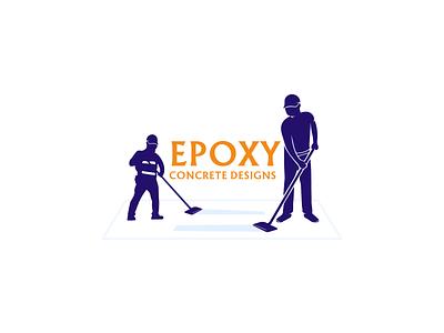 Epoxy Concrete Designs industrial commercial branding concrete design logodesign logo epoxydesign floor epoxy