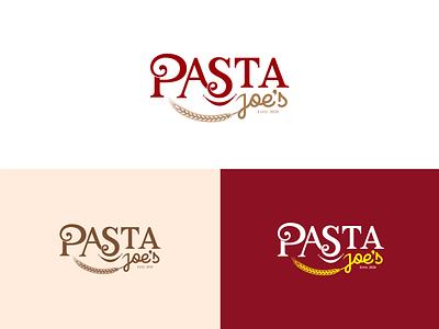 Pasta Jeo's Logo design brand fastfood homemade food logodesign sell restaurant pasta logo
