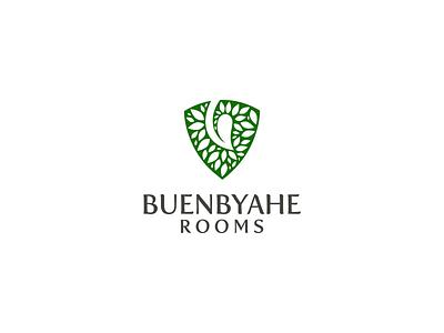 Buen Byahe Rooms Logo accomodation design branding minimal aesthetic brand logodesign logo eco tourism hotel