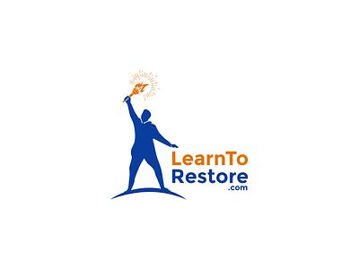Learn to restore logo teaching training restore learn learning logodesign brand design minimal logo branding