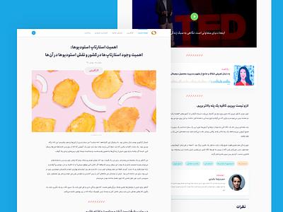 Blog Post social media blogger writer video layer video podcast blog posts blog post blog design adobe xd icon ux ui