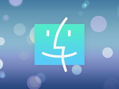 Finder iOS7 style