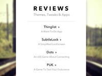 Reviews Website