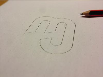 """MJ"" Monogram Draft"