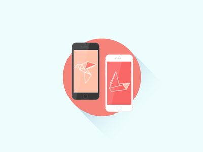 Mobile App Personalization app illustration flat mobile personalization liquid