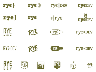 more goofing rye dev logo
