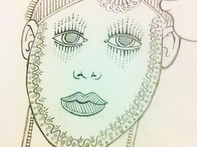 Ornamental sketch 01