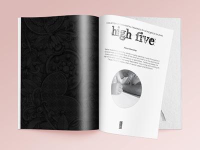 High five mockup inside pages 400