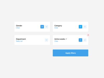 Dashboard UI elements #2