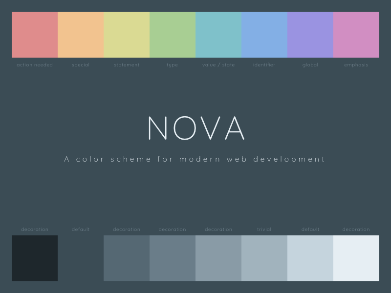 Free Web Development Color Scheme nova web development color scheme