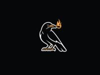Crow mascot crow t shirt design character design vector design illustration graphics