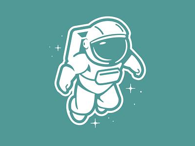 Astronaut astronaut space brooklyn designer vector t shirt design character design vector design illustration graphics