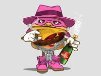 R kelly Burger