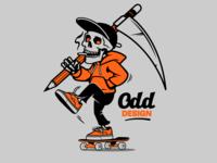 Skate design mascot