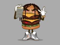 Lil Reek burger
