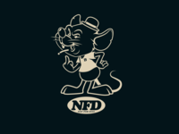 NFD rat mascot